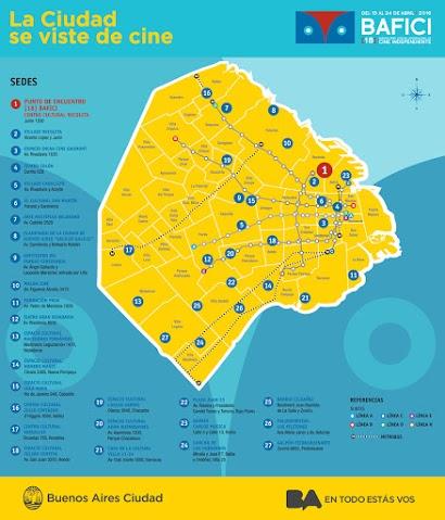 18 BAFICI - Mapa proyecciones