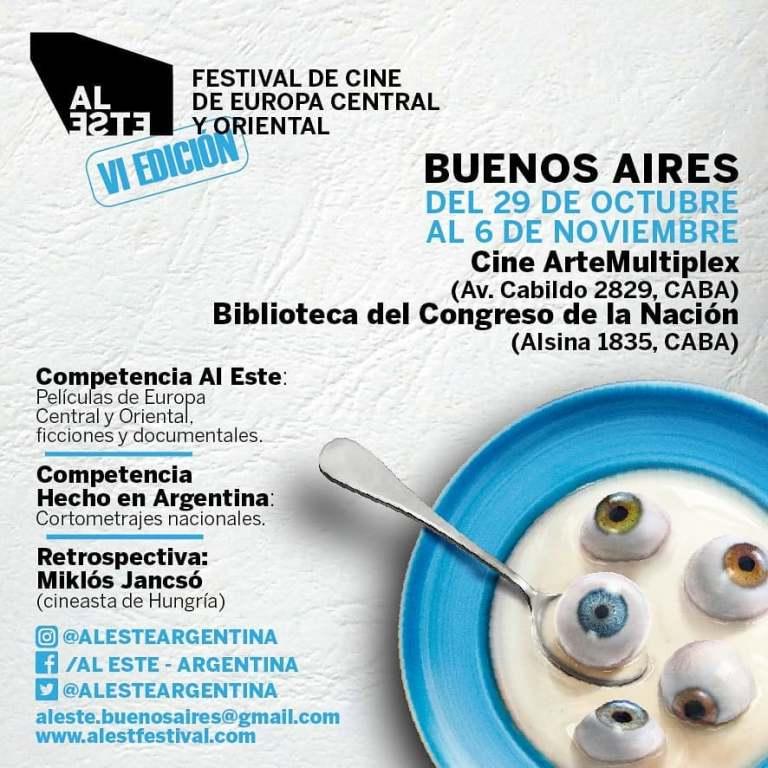 Afichete Festival AL ESTE Argentina - Buenos Aires 2019